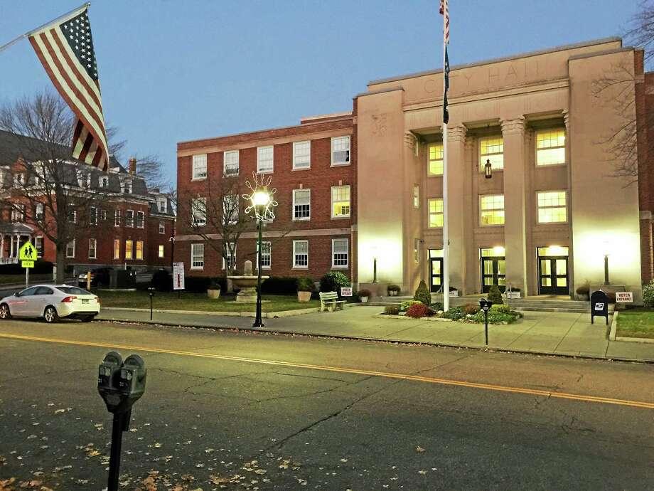 Ben Lambert - The Register Citizen Torrington City Hall is located on Main Street. Photo: Journal Register Co.