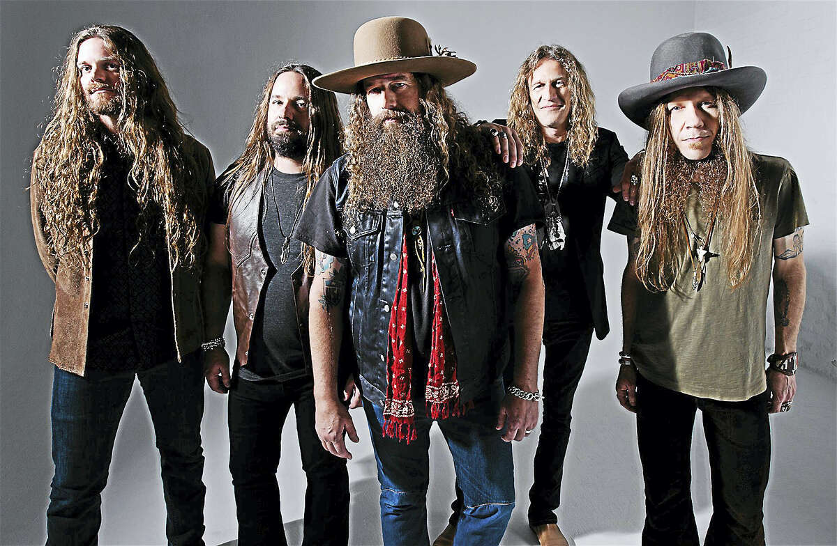 Contributed photo - Blackberry SmokeSouthern rockers Blackberry Smoke will share the bill with 3 Doors Down at Foxwoods Resort Casino in Mashantucket on Sunday May 22.