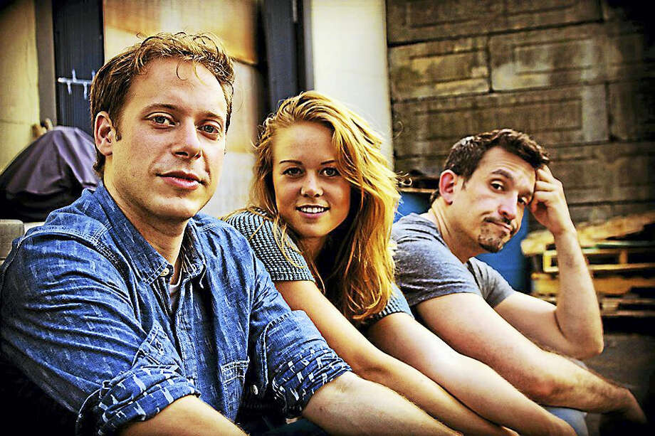 """Contributed photoIndependent filmmakers Jessie Sawyer and Ryan Casey are making """"Gener's People"""" (pronounced """"Generous""""), a television series shot in numerous Connecticut towns that will be pitched to major networks. Photo: Journal Register Co."""