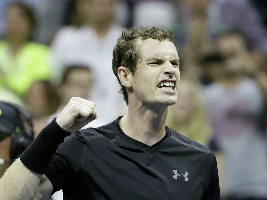 Andy Murray, of Britain, reacts after defeating Grigor Dimitrov, of Bulgaria, 6-1, 6-2, 6-2 during the U.S. Open tennis tournament on Sept. 5, 2016 in New York. Photo: AP Photo/Darron Cummings  / Copyright 2016 The Associated Press. All rights reserved.