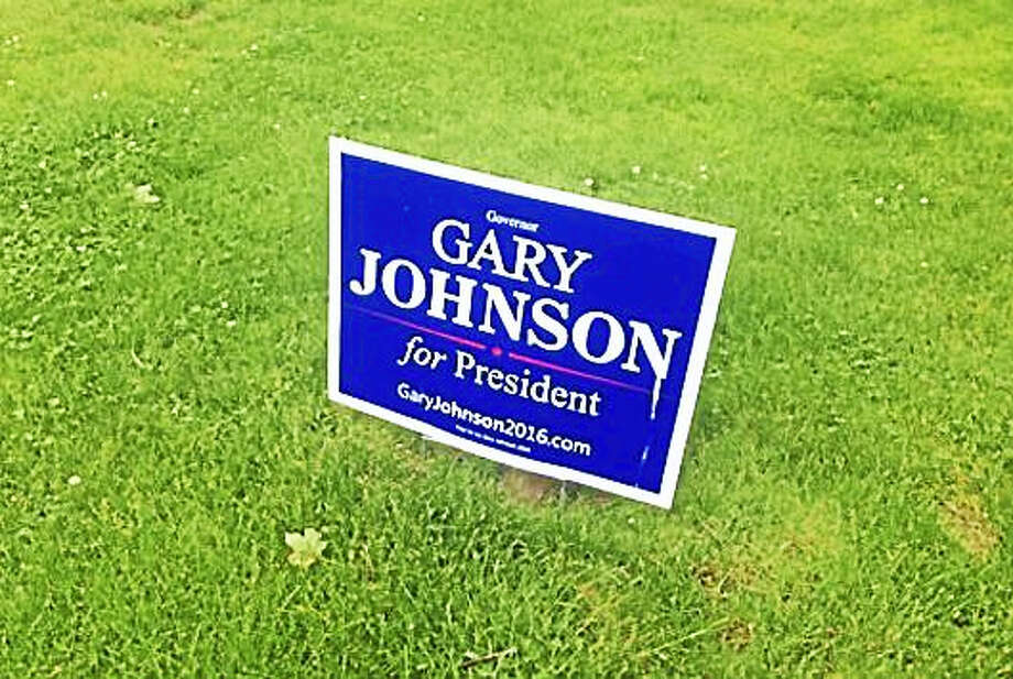 Libertarian Candidate Gary Johnson to be on Connecticut ballot in November Photo: Journal Register Co.