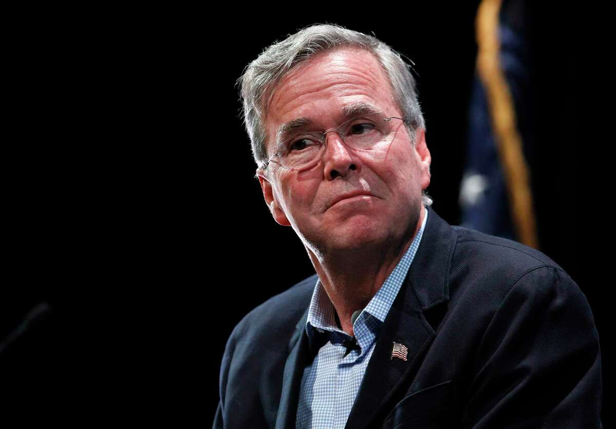 Republican presidential candidate Jeb Bush speaks during the LIBRE Initiative's policy forum series at the College of Southern Nevada in North Las Vegas, Nev., Wednesday, Oct. 21, 2015.