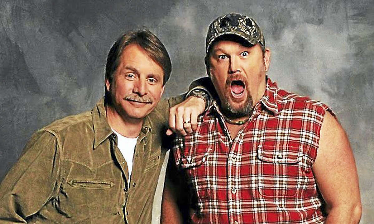"""www.grouponcdn.comLarry the Cable Guy and Jeff Foxworthy make a stop on their """"We've Been Thinking"""" tour at the Warner Theatre in Torrington on Friday, March 4. Two shows are set for 7 and 9:30 p.m."""