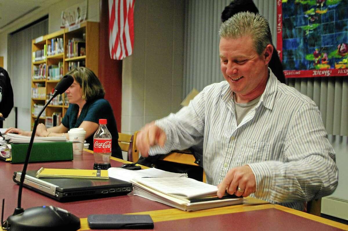 REGISTER CITIZEN FILE PHOTO Torrington Board of Education Chairman Kenneth Traub.