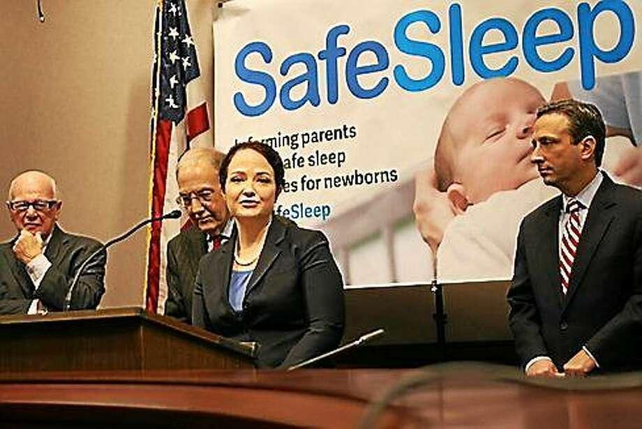 State Child Advocate Sarah Eagan. Photo: Hugh McQuaid — CT News Junkie