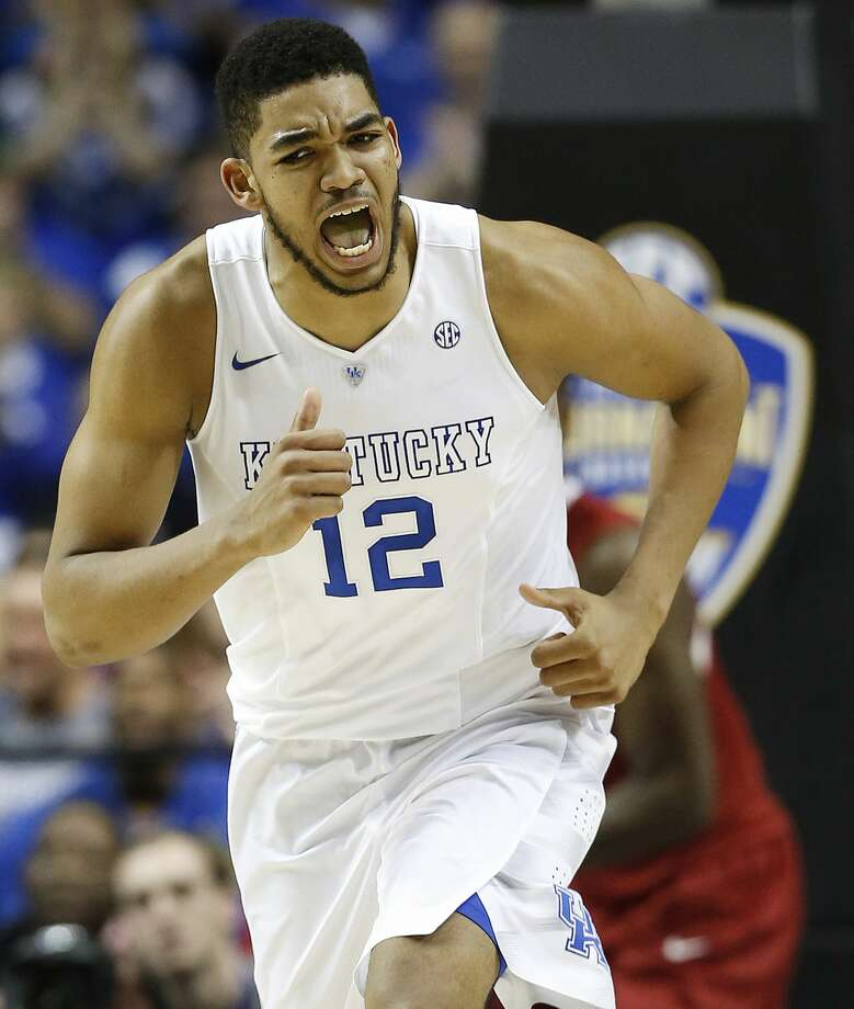 Karl-Anthony Towns is a top prospect in the NBA Draft. Photo: Steve Helber — The Associated Press File Photo  / AP