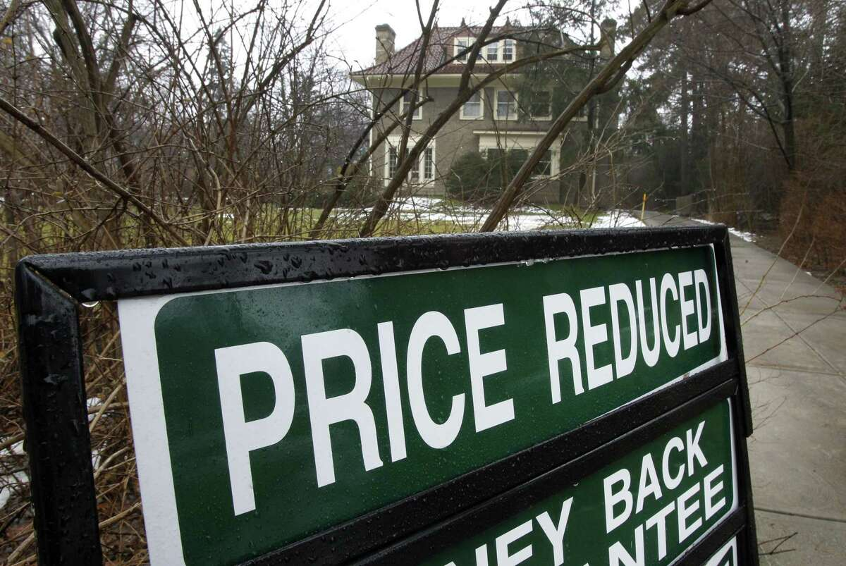 In a Thursday, Feb. 16, 2012 photo, an existing home is seen for sale in Shaker Heights, Ohio. Sales of previously occupied U.S. homes rose in January to the highest pace in nearly two years, a hopeful sign ahead of the spring-buying season.