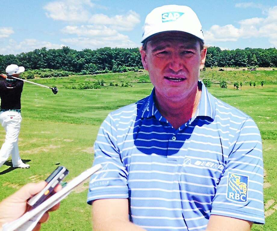 Ernie Els will play at the Travelers for the first time since 2002. Photo: Joe Morelli — Register