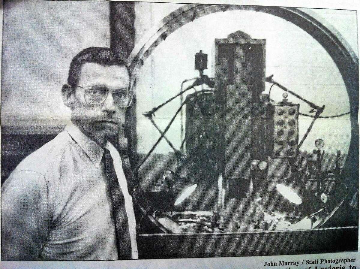 Sterling Engineering President John N. Lavieri is seen in this 1992 file photo.