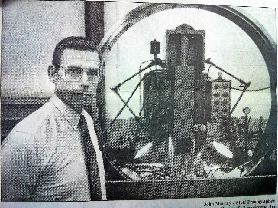 Sterling Engineering President John N. Lavieri is seen in this 1992 file photo. Photo: Register Citizen File Photo