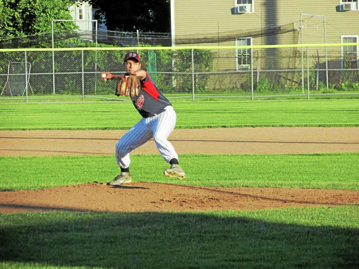 Peter Wallace ó Register Citizen D.J. Reynolds got the win in his first start of the summer for Torrington Sports Palace.