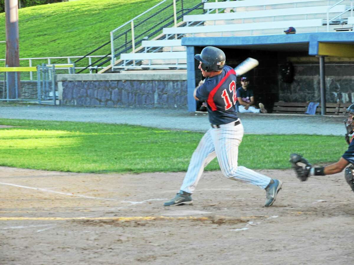 Peter Wallace ó Register Citizen Matt Baril was 3-for-3 with 4 RBI for Torrington even before the lopsided win got out of hand.