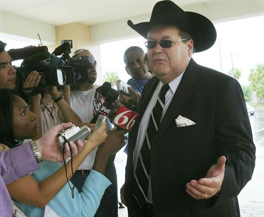 Jim Ross, the World Wrestling Entertainment announcer known as J.R., has signed with CBS to be a boxing announcer. Photo: The Associated Press File Photo  / Daytona Beach News Journal