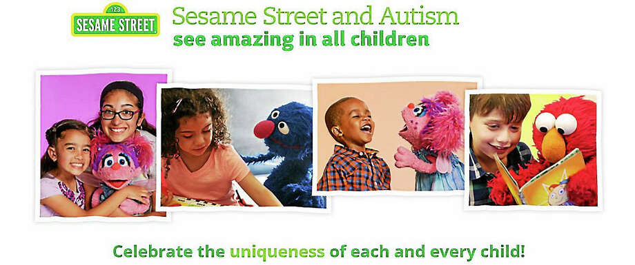 "(Screenshot via autism.sesamestreet.org) The ""Sesame Street"" franchise added a new character named Julia to its storyline; she has autism. Photo: Journal Register Co."