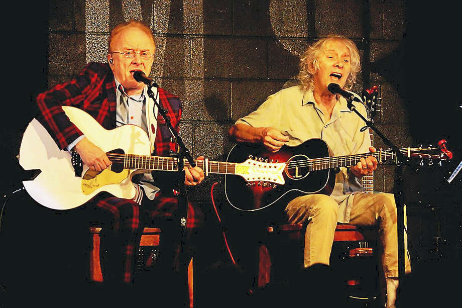 Peter Asher and Albert Lee Photo: Photo Courtesy Of Peter Asher