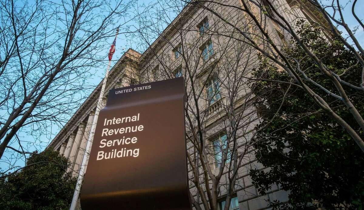 The Internal Revenue Service Headquarters (IRS) building in Washington.