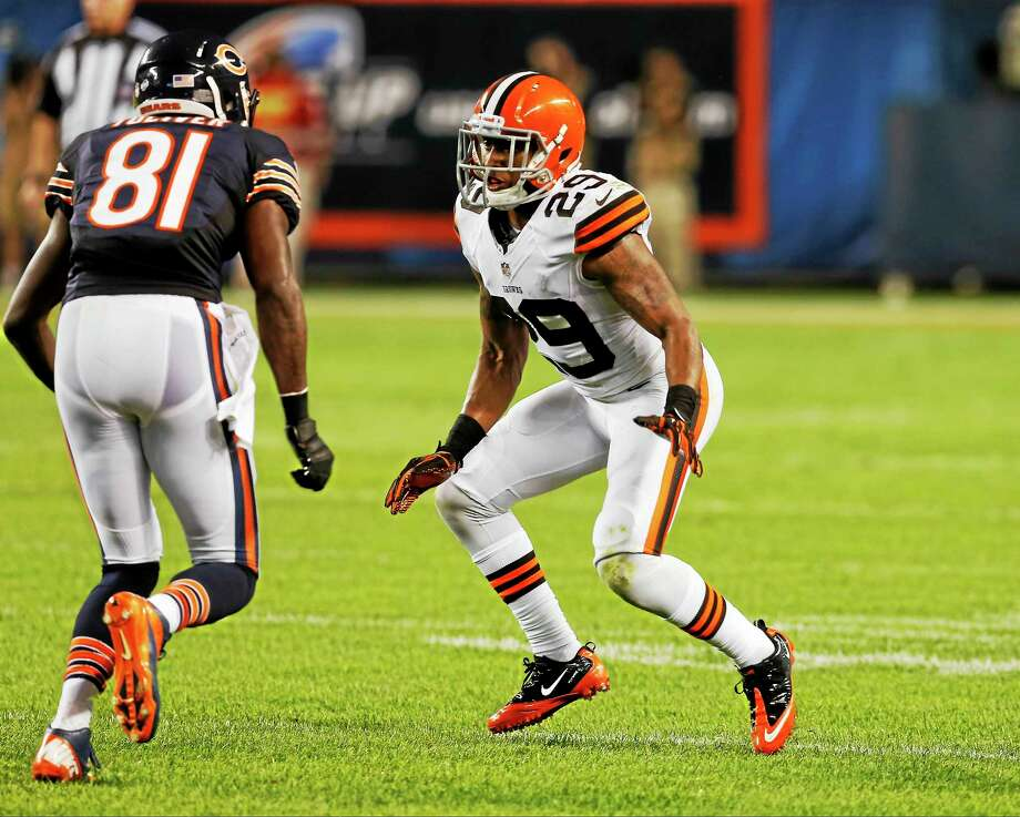 The New York Giants have signed cornerback Leon McFadden. Photo: The Associated Press File Photo  / AP