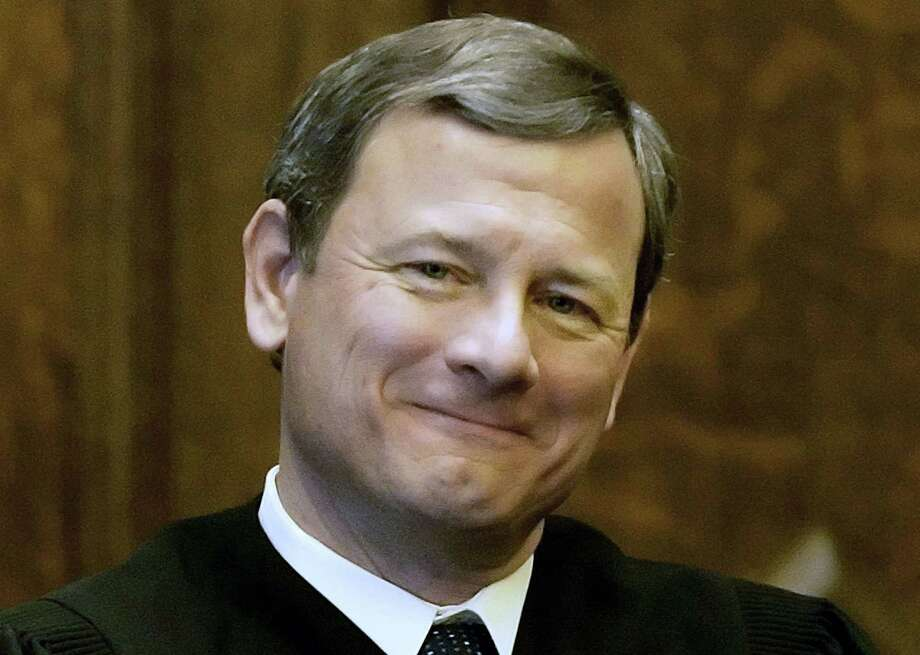 Supreme Court Chief Justice John G. Roberts Jr. is seen in Providence, R.I., in this archive photograph. Photo: FILE Photo  / AP
