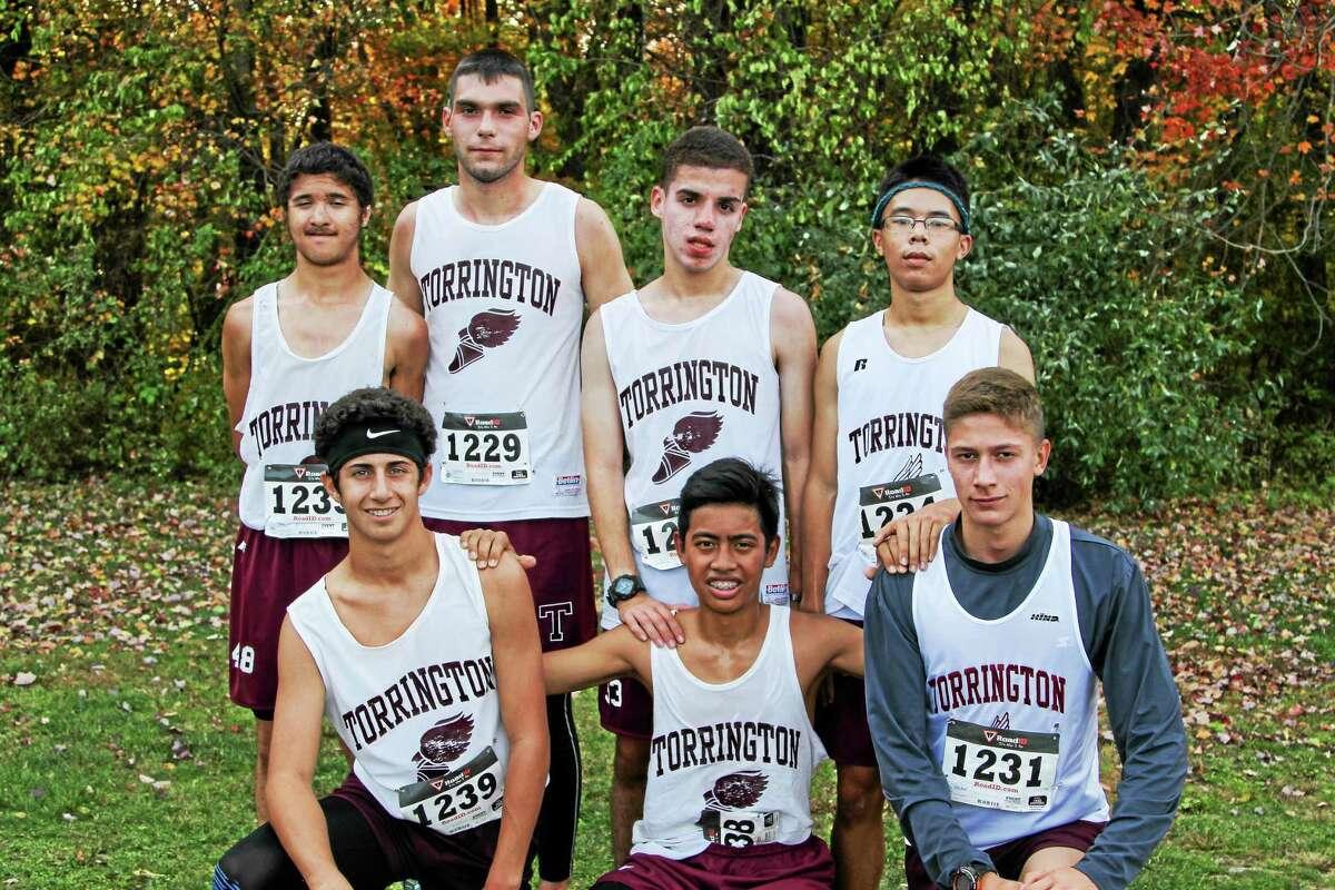 Torrington's boys runners