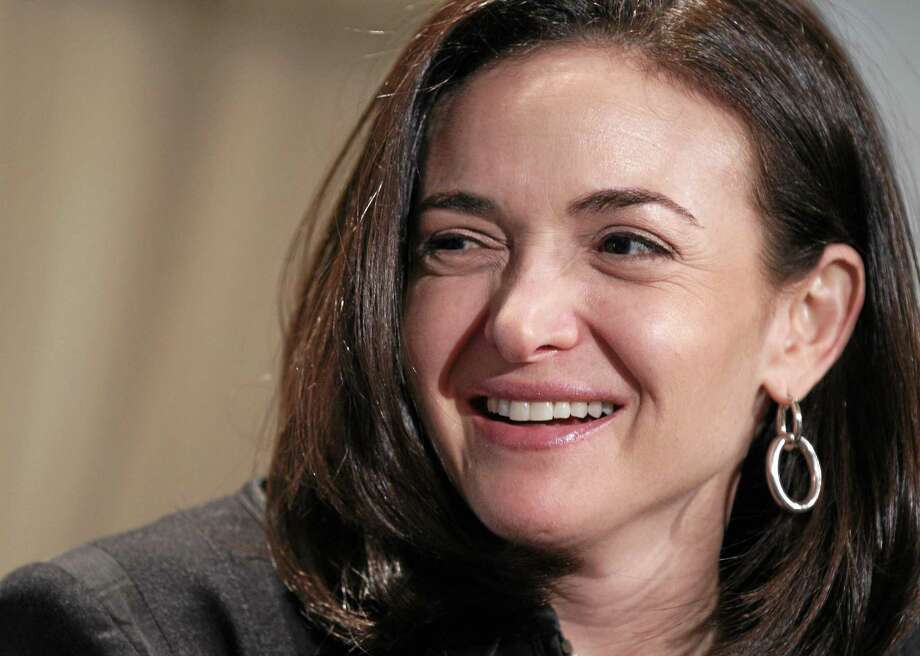 In this April 7, 2011 photo, Sheryl Sandberg, Facebook's chief operating officer, speaks at a luncheon for the American Society of News Editors in San Diego. Photo: AP Photo/Gregory Bull, File  / AP