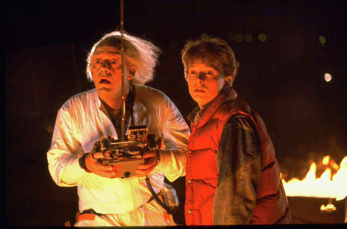 """Emmett Lathrop """"Doc"""" Brown, played by actor Christopher Lloyd, says he loves his character in the """"Back to the Future"""" franchise."""
