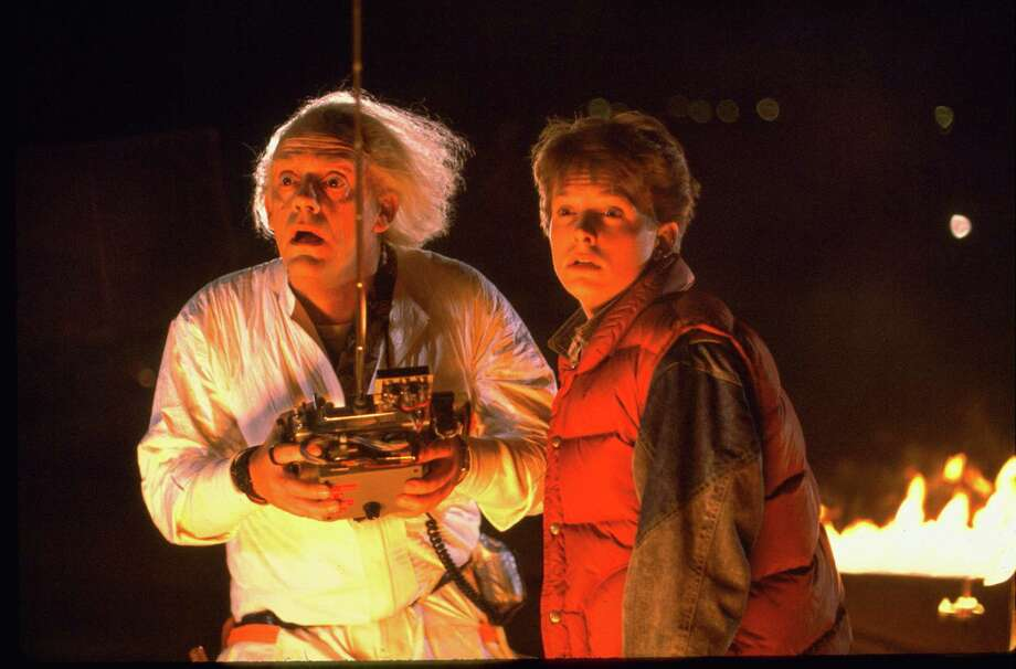 """Emmett Lathrop """"Doc"""" Brown, played by actor Christopher Lloyd, says he loves his character in the """"Back to the Future"""" franchise. Photo: Courtesy Universal Pictures Home Entertainment"""