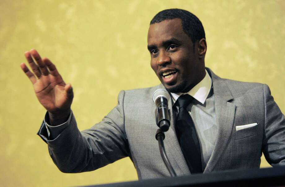 """In this July 26, 2013 photo, Sean """"Diddy"""" Combs of the new network Revolt TV addresses reporters at the Beverly Hilton Hotel in Beverly Hills, Calif. Photo: Photo By Chris Pizzello/Invision/AP, File  / Invision"""