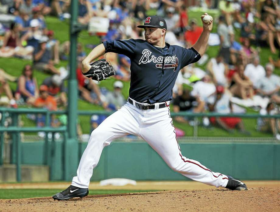University of Hartford product Sean Newcomb is rated the Atlanta Braves No. 3 overall prospect. Photo: The Associated Press File Photo  / AP