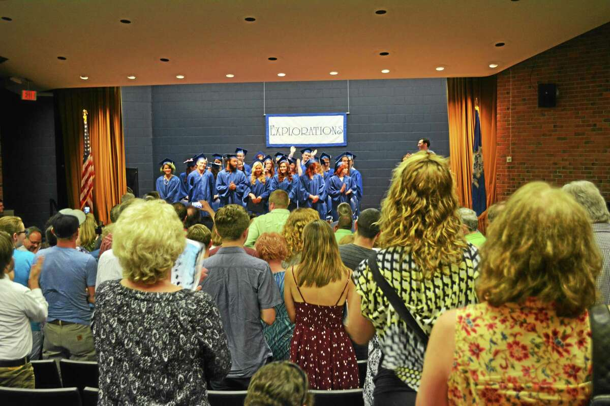 The Explorations Charter School Class of 2015 was celebrated Tuesday evening with a commencement ceremony on the UConn-Torrington campus.
