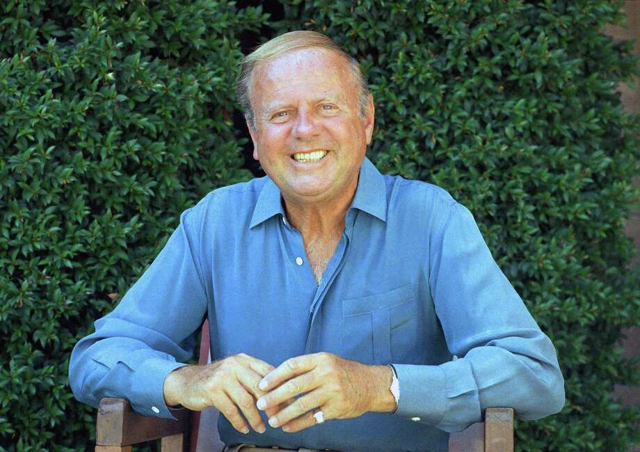 FILE - In this Oct. 13, 1987 file photo, actor Dick Van Patten is photographed in Los Angeles. Van Patten, the genial comic actor best known as the patriarch of TVís ìEight is Enough,î has died, according to his publicist Daniel Bernstein. He was 86. No details on his death were immediately available. (AP Photo/Mark Terrill, File) Photo: AP / AP