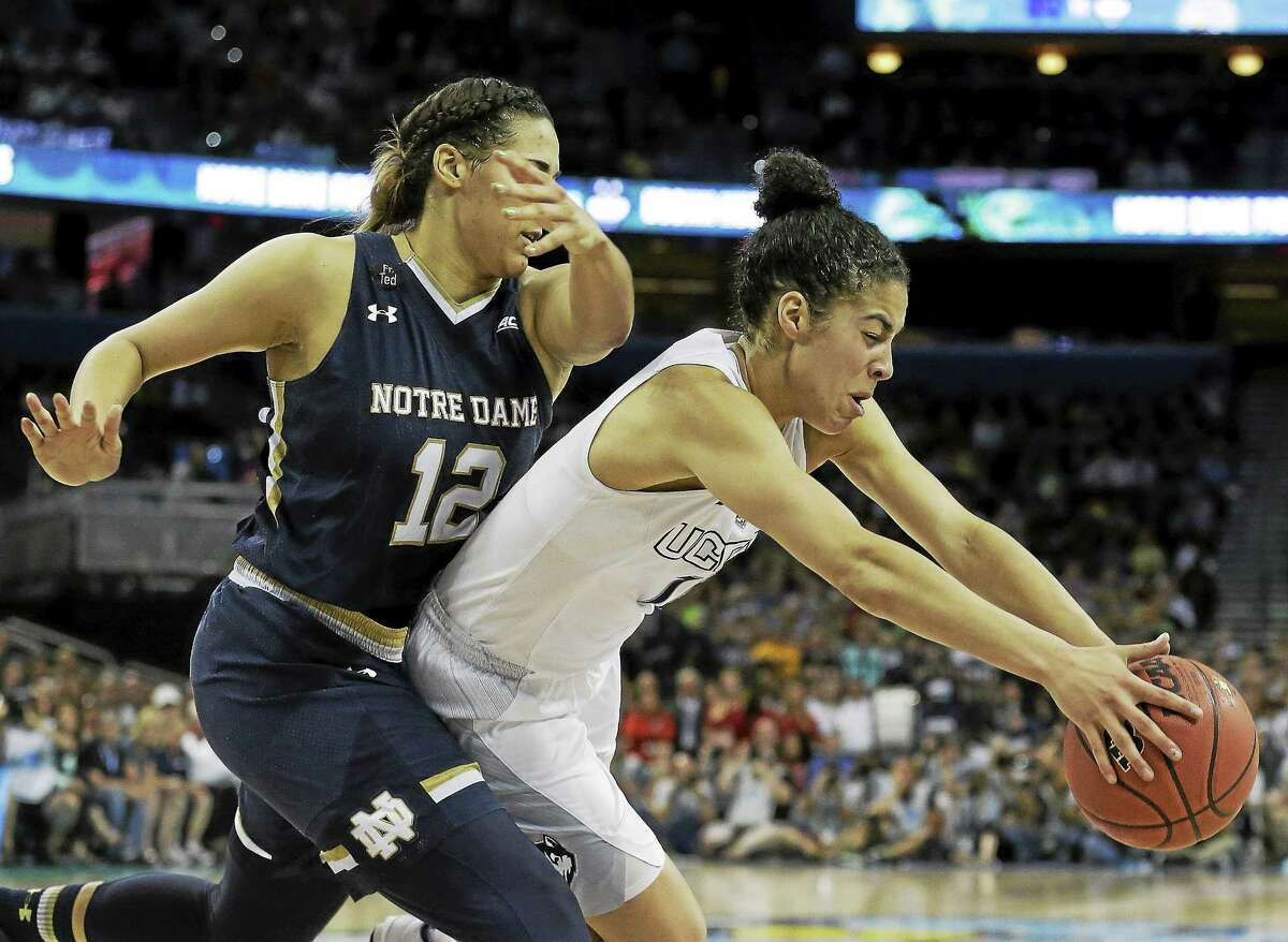 UConn guard Kia Nurse (11) has been named to the Canadian team playing in the Pan Am Games.