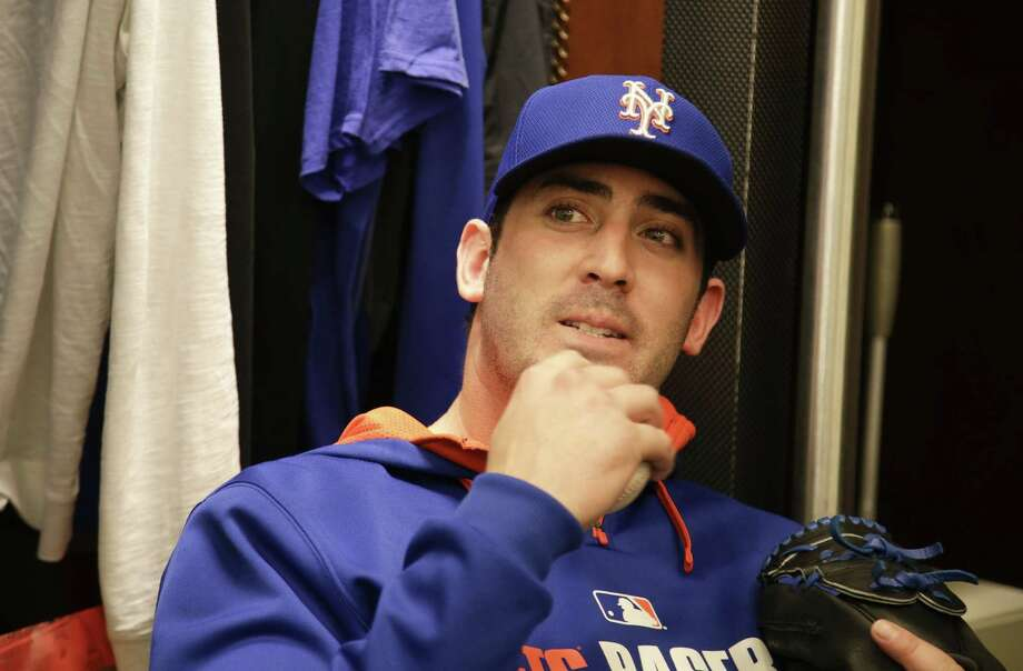 New York Mets general manager Sandy Alderson said Friday that pitcher Matt Harvey could throw 200 innings this season. Photo: Julie Jacobson — The Associated Press File Photo  / AP