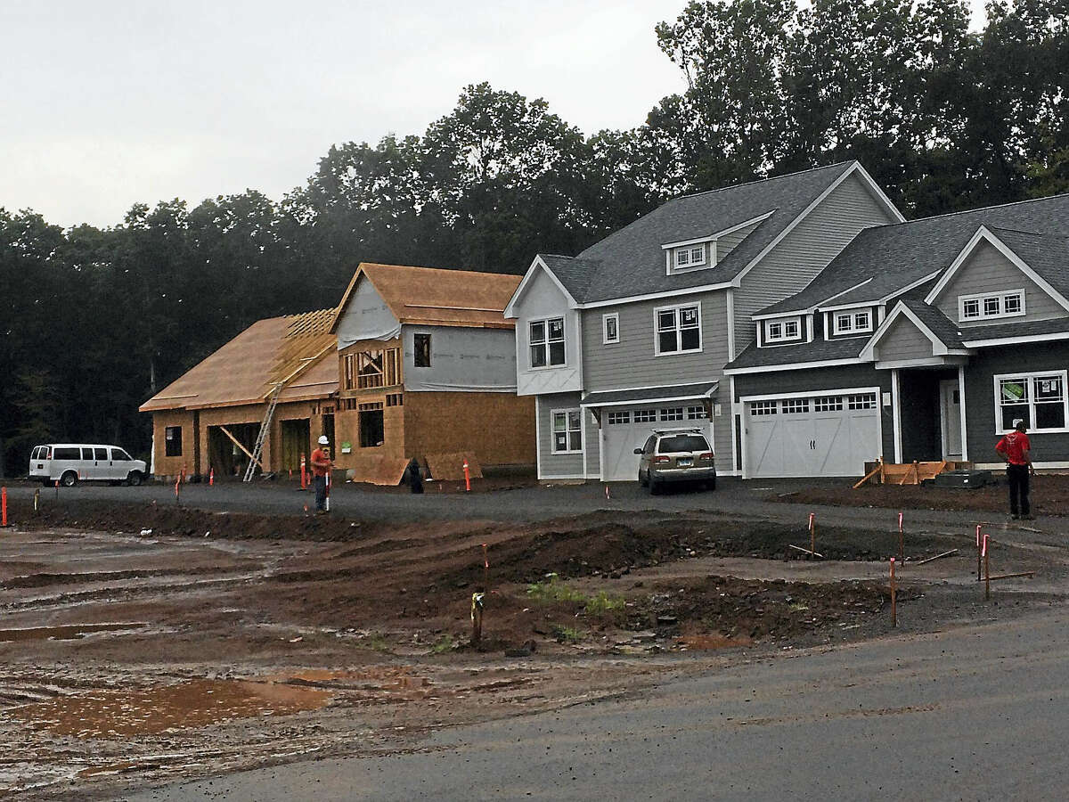 Construction of Centerplan Communities' Pierpont Hill Complex is underway in North Haven. The residential development of 149 units — 37 single-family, detached homes and 112 duplexes — will cost Middletown-based Centerplan Communities in excess of $50 million.