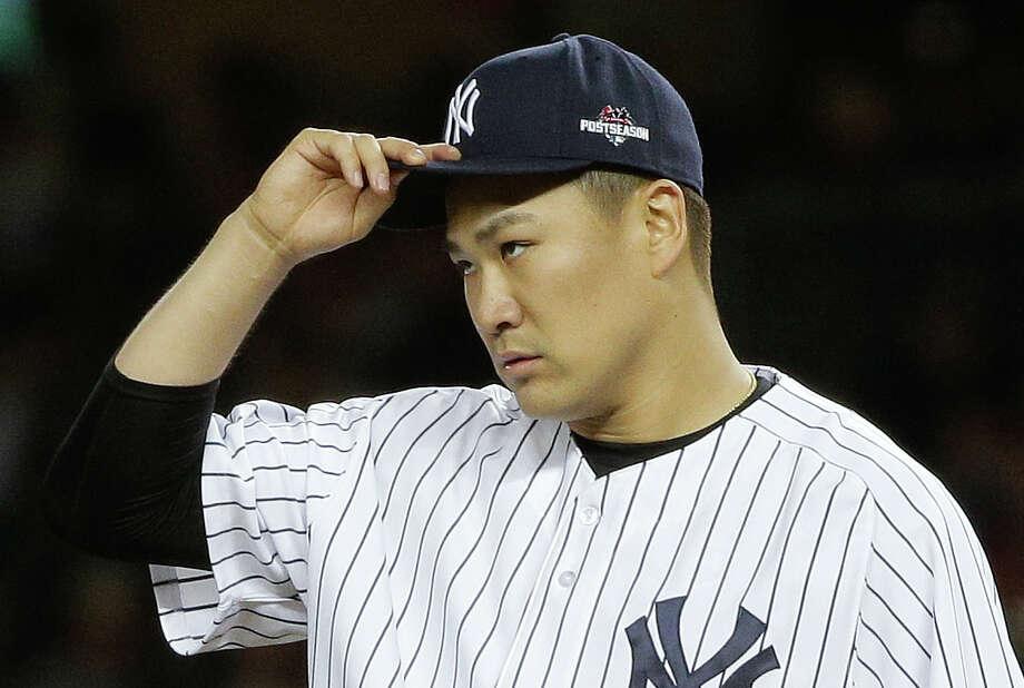 New York Yankees pitcher Masahiro Tanaka has undergone elbow surgery. Photo: Julie Jacobson — The Associated Press  / AP