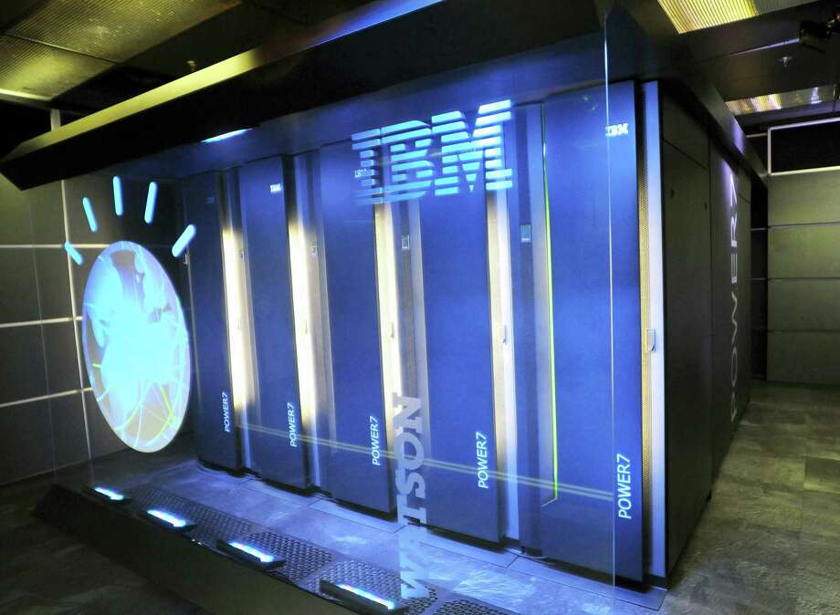 A Jan. 13, 2011, file photo provided by IBM shows the IBM computer system known as Watson, at IBM's T.J. Watson research center in Yorktown Heights, New York. Photo: The Associated Press  / IBM