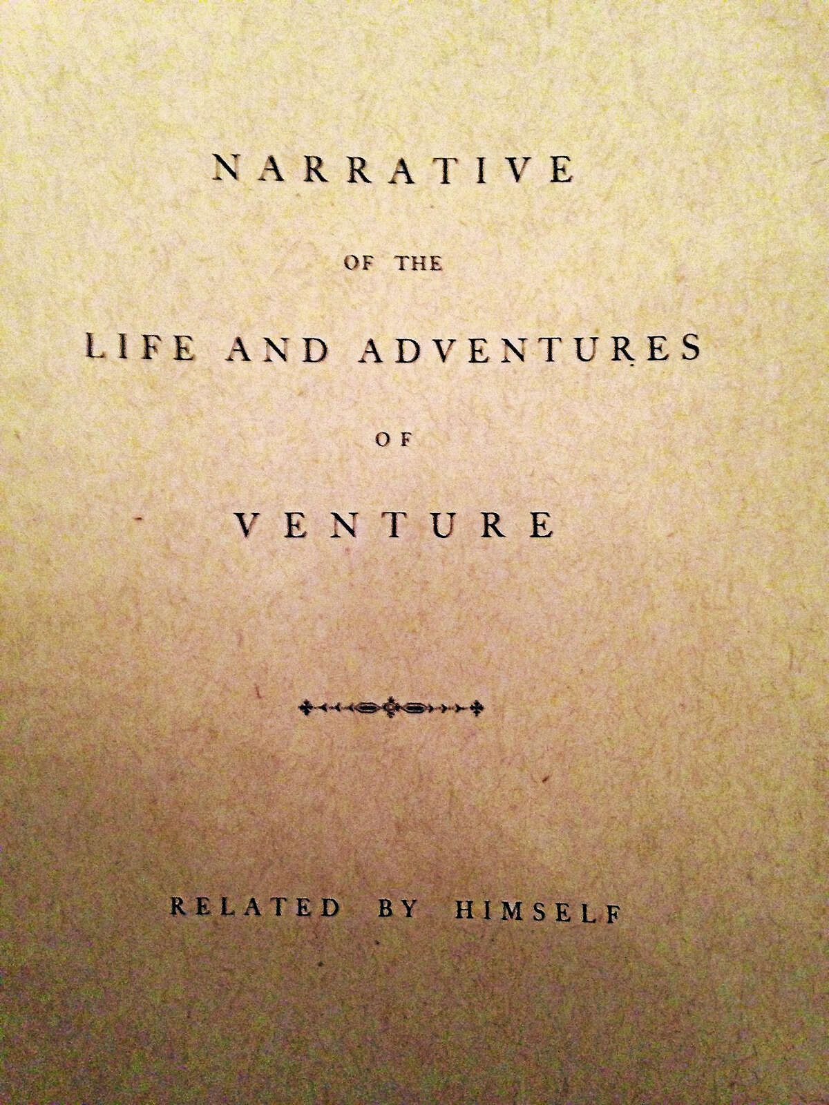 Venture Smith, a slave who purchased his own freedom in 1760, published an autobiography in 1978.