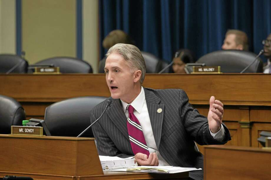 Rep. Trey Gowdy, R-SC, questions Inspector General Michael Horowitz, the Justice Department's internal watchdog, as he appears before the House Oversight and Government Reform Committee the day after issuing a report faulting the department for disregard of public safety in this archive photo. Photo: File  / AP
