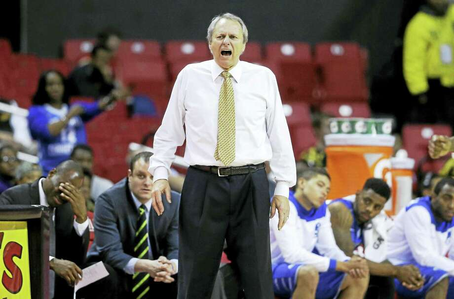 Central Connecticut State basketball coach Howie Dickenman said one of his goals in retirement is to be Santa Claus at holiday time. Photo: The Associated Press File Photo  / AP