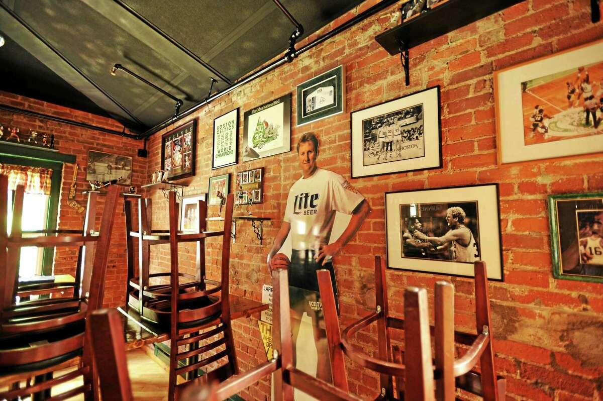 JOHN FITTS — THE REGISTER CITIZEN The Legends Tap Room at Parrott Delaney Tavern.