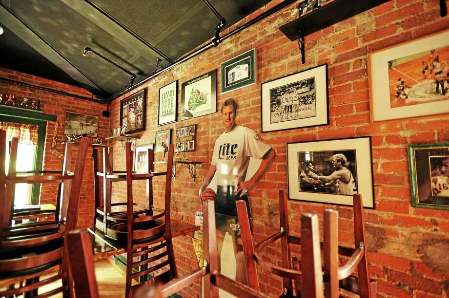 JOHN FITTS — THE REGISTER CITIZEN The Legends Tap Room at Parrott Delaney Tavern. Photo: Journal Register Co.
