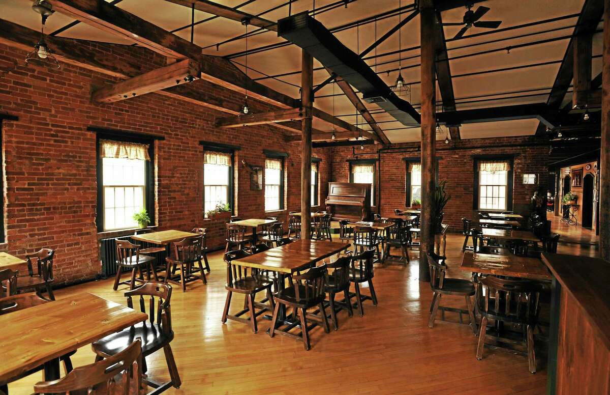 JOHN FITTS — THE REGISTER CITIZEN There's plenty of room for banquets and Sunday brunch at Parrott Delaney Tavern.
