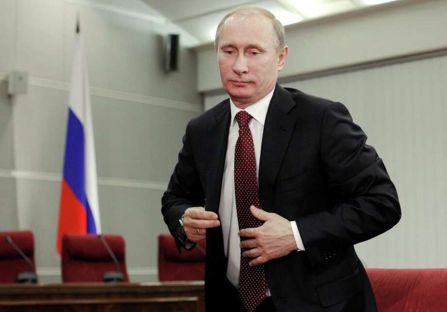 Vladimir Putin Photo: File  / AP