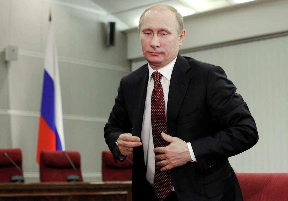 Vladimir Putin Photo: File  / AP
