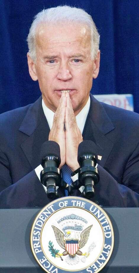 Vice president Joe Biden gives speech in October of 2011. YORK DAILY RECORD/SUNDAY NEWS — PAUL KUEHNEL Photo: York Daily Record/Sunday News / YORK DAILY RECORD/SUNDAY NEWS