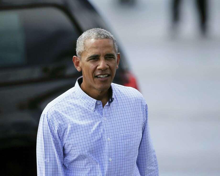 U.S. President Barack Obama Photo: The Associated Press  / FR132414 AP