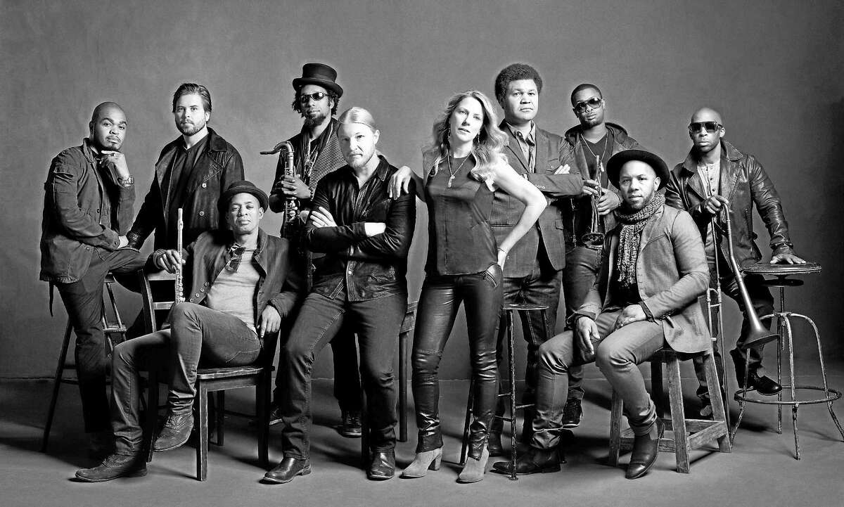 Contributed photo Infinity Hall will present the Tedeschi Trucks Band at the Warner Theatre on Thursday, April 16 at 8 p.m.