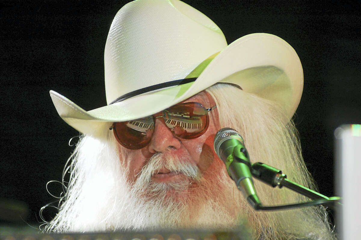 Rock and Roll Hall of Famer Leon Russell will play The Warehouse in Fairfield on Saturday.