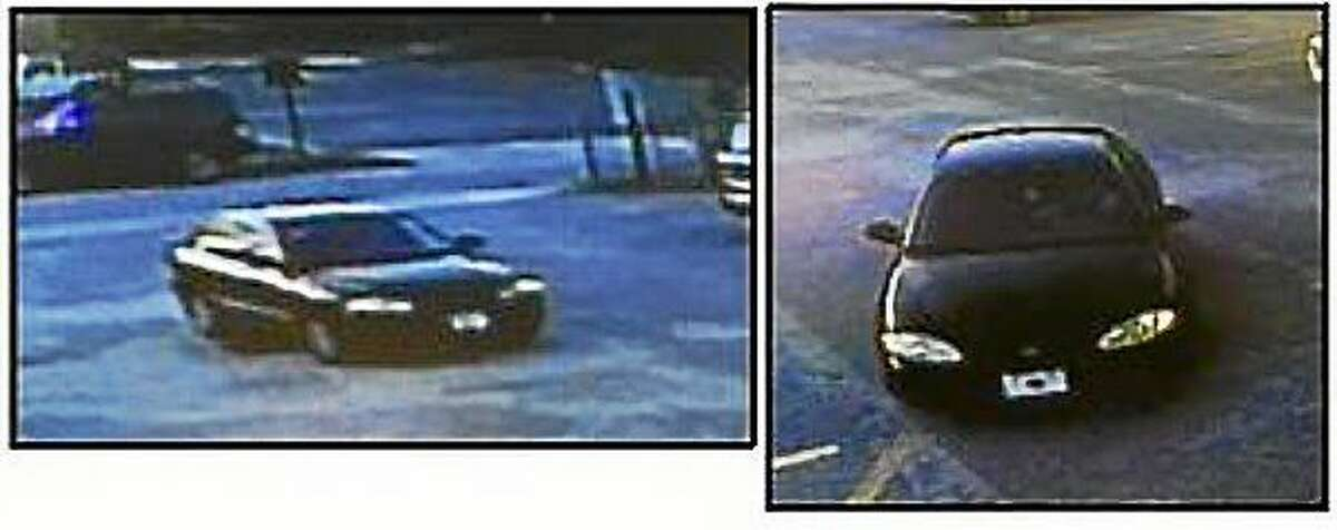 Authorities released these surveillance images Thursday morning showing the vehicle driven by a man who allegedly opened fire at a Charleston, South Carolina church Wednesday night, killing nine. The car is described as a black sedan.