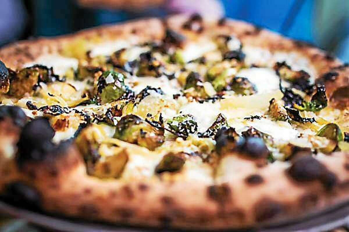 Krust Pizza Bar's Brussels pizza in Middletown.