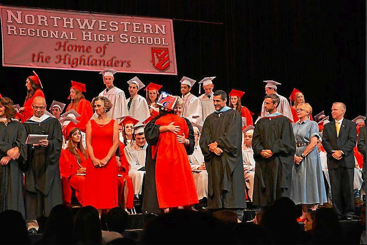 The 2015 Northwestern Regional High School graduation ceremony was held Tuesday at the Warner Theater in Torrington.